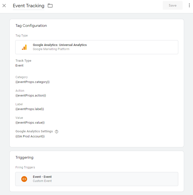 Google Tag Manager React Event Tracking