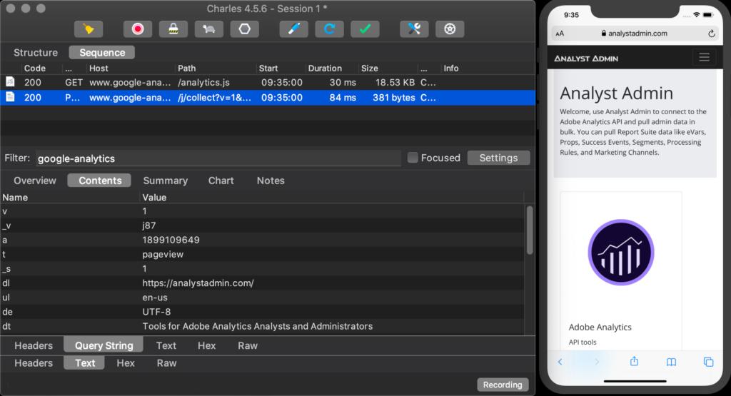 Ios Simulator With Charles Proxy Running 1024x555